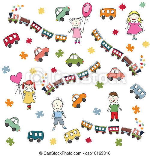 toys pattern - csp10163316