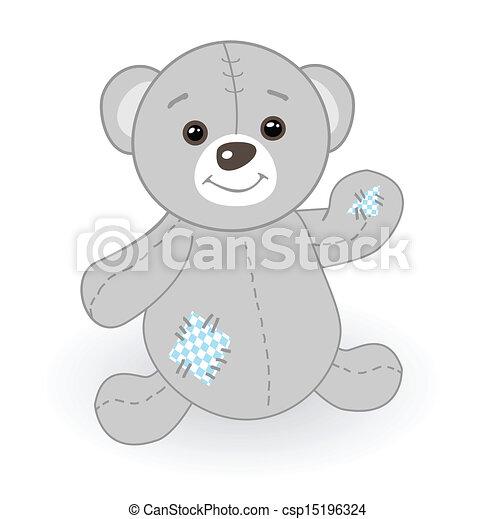 Toys - Teddy bear - csp15196324
