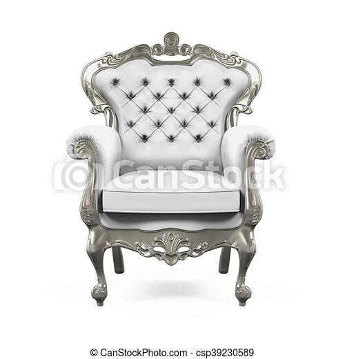 Bien-aimé Illustration de stock de trône, roi, chaise - trône, roi, render  PO45
