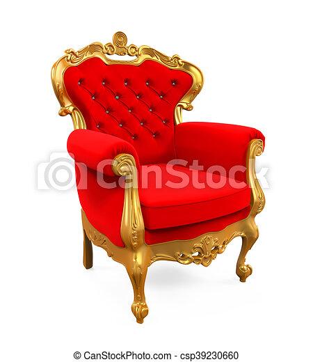 Fabuleux Illustration de stock de trône, roi, chaise - trône, roi, render  HT83