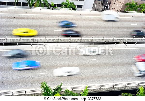 El tráfico - csp13376732