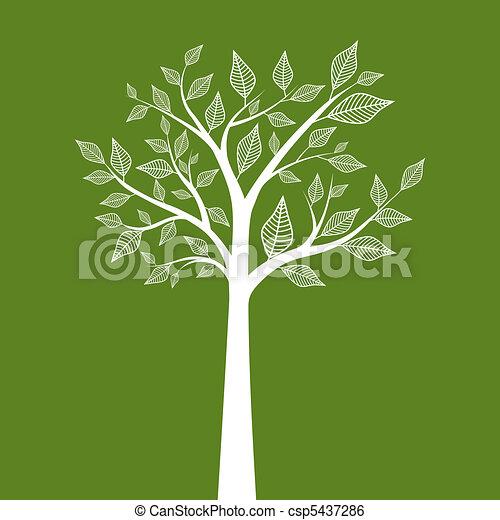 träd - csp5437286