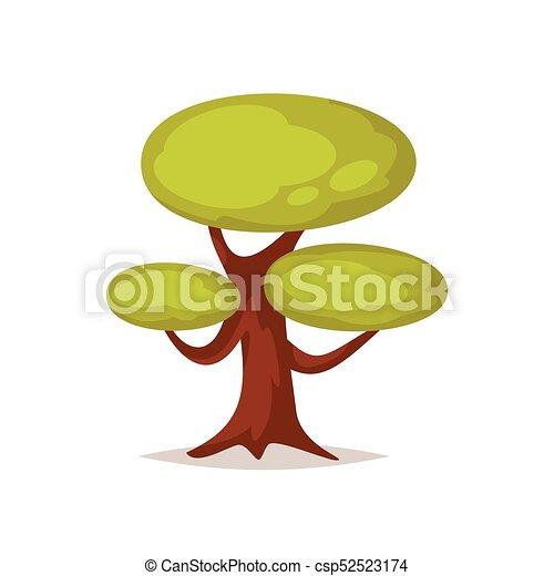 träd, illustration - csp52523174