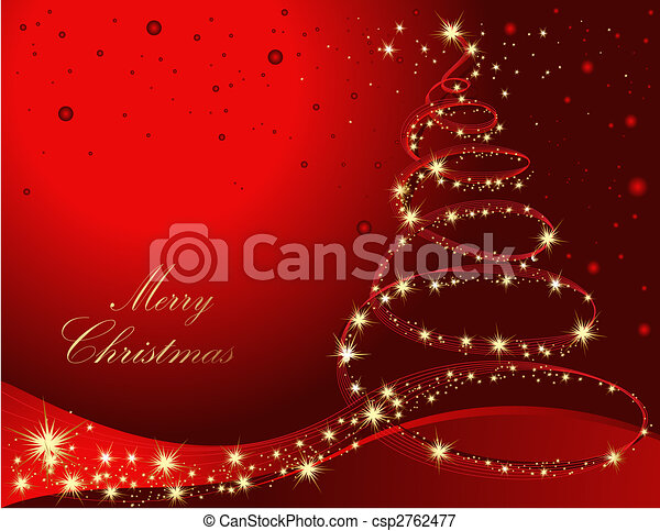 träd, jul - csp2762477