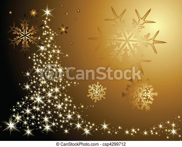 träd, jul - csp4299712