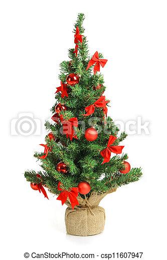 träd, jul - csp11607947