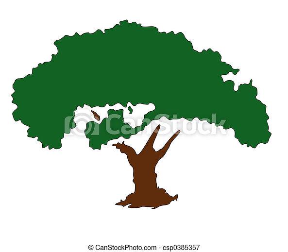 träd - csp0385357
