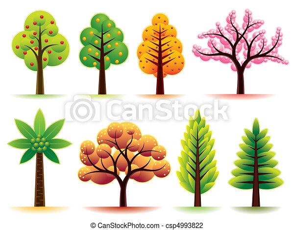 træer - csp4993822