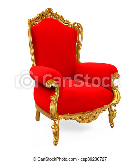 tr ne roi chaise tr ne roi render isol clip art rechercher illustration dessins. Black Bedroom Furniture Sets. Home Design Ideas