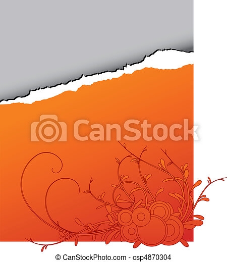 traan, abstract, papier, - - csp4870304