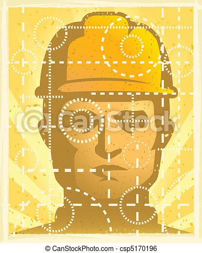 Trabajador de construcción - csp5170196