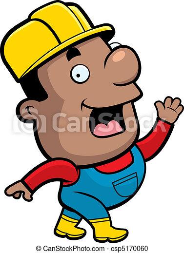 Trabajador de construcción - csp5170060