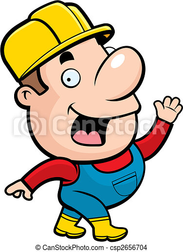 Trabajador de construcción - csp2656704