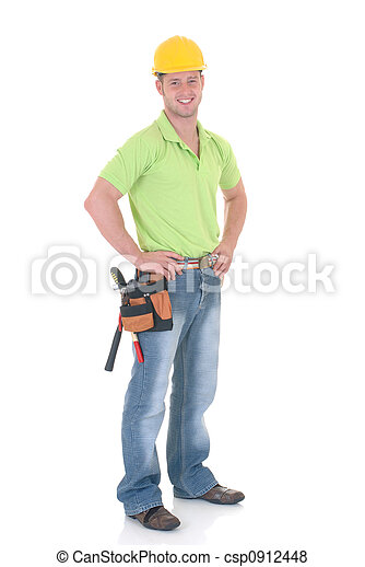 Trabajador de construcción - csp0912448