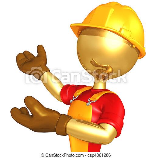 Trabajador de construcción - csp4061286