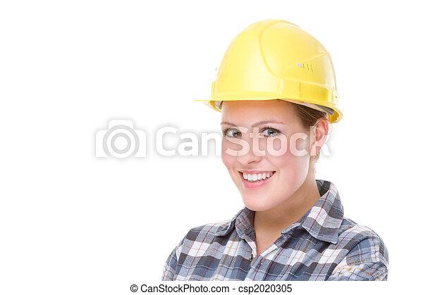 Trabajador de la contrucción (mujer) - csp2020305