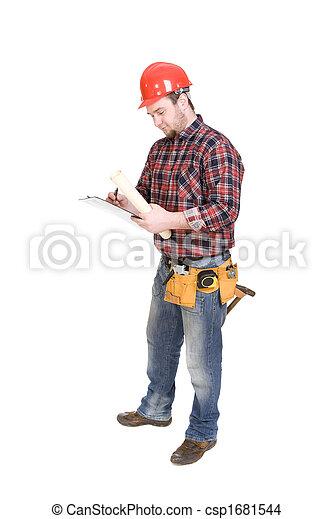 Trabajador - csp1681544