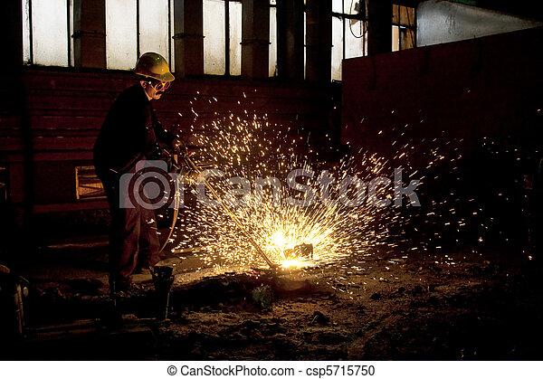Trabajador industrial - csp5715750