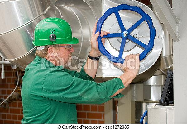 Trabajador industrial - csp1272385