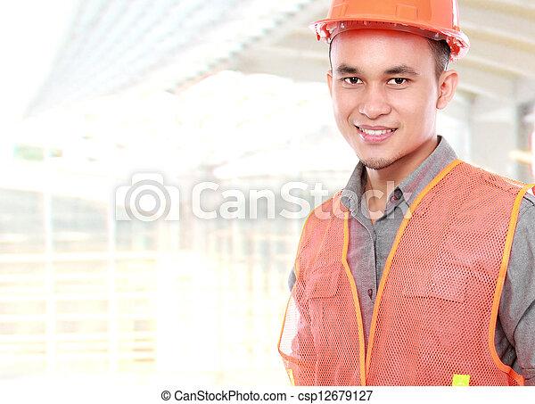 Trabajador industrial - csp12679127