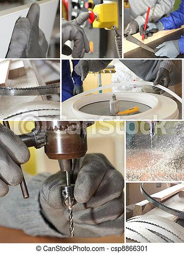 Trabajador industrial - csp8866301