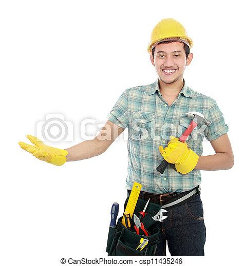 Presentación de trabajadores - csp11435246