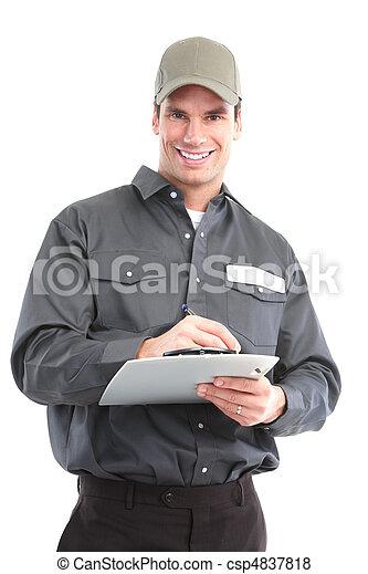 Trabajador - csp4837818