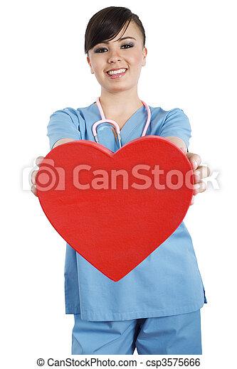trabajador salud, cuidado - csp3575666