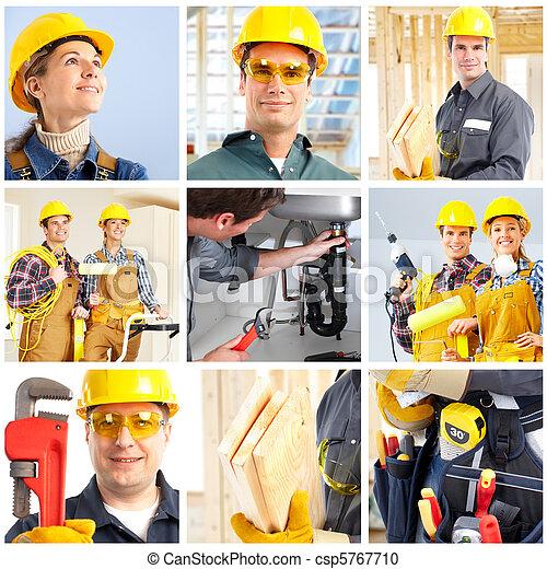 Trabajadores - csp5767710