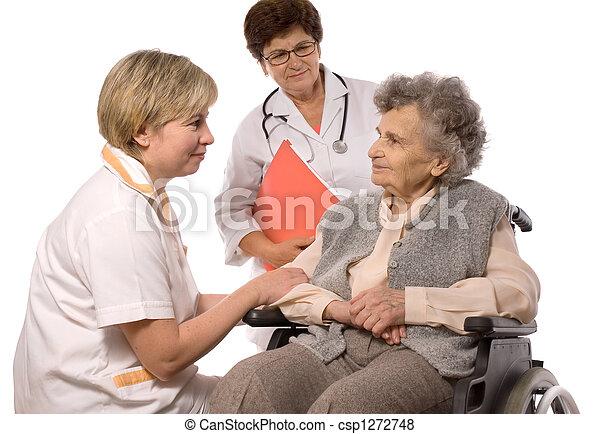 Trabajadores de salud - csp1272748