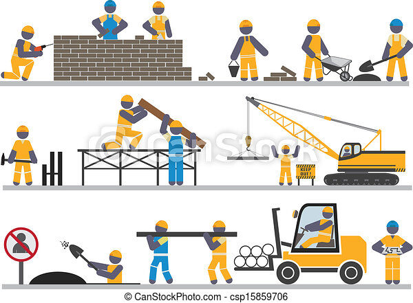 Trabajadores - csp15859706
