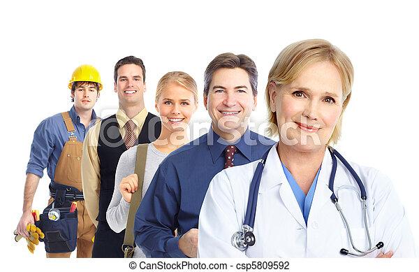 Trabajadores - csp5809592