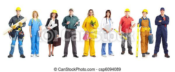 Trabajadores - csp6094089