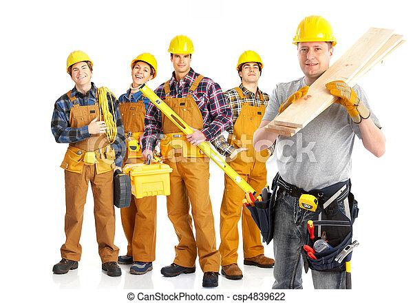 Gente trabajadora - csp4839622