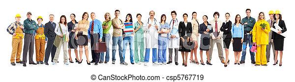 trabajadores, gente - csp5767719