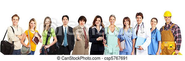 trabajadores, gente - csp5767691