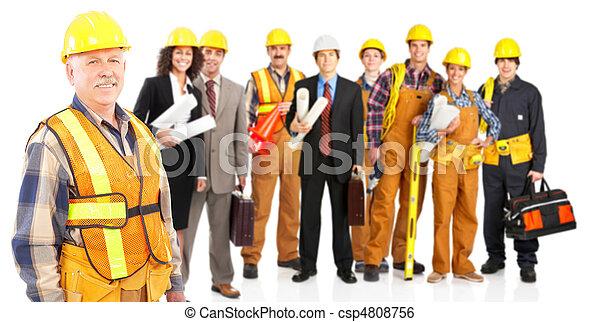 Trabajadores - csp4808756