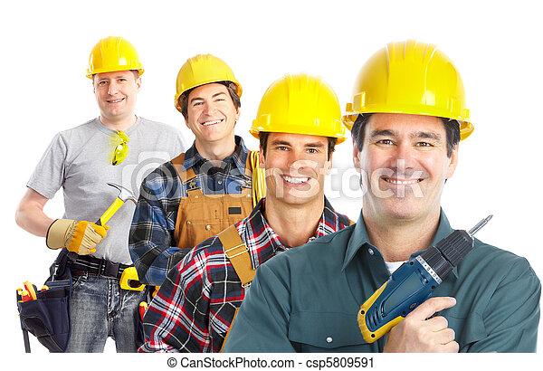 Trabajadores - csp5809591
