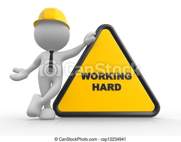 El área de trabajo - csp12234941