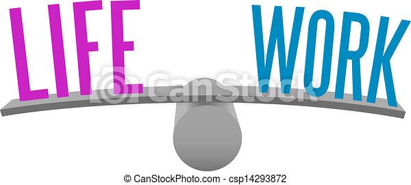 Equilibrar la vida y decidir el trabajo - csp14293872