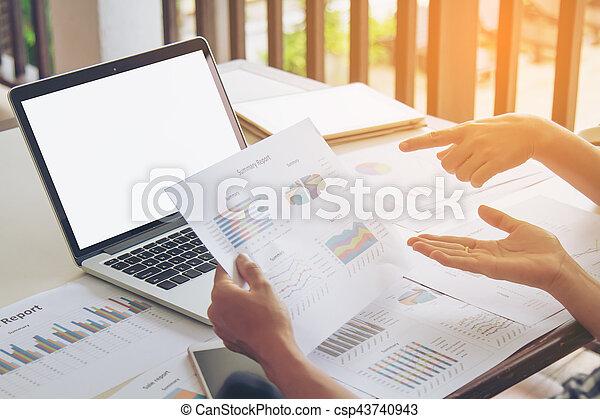 Un concepto de trabajo de negocios - csp43740943