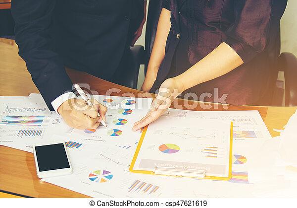 Un concepto de trabajo de negocios - csp47621619