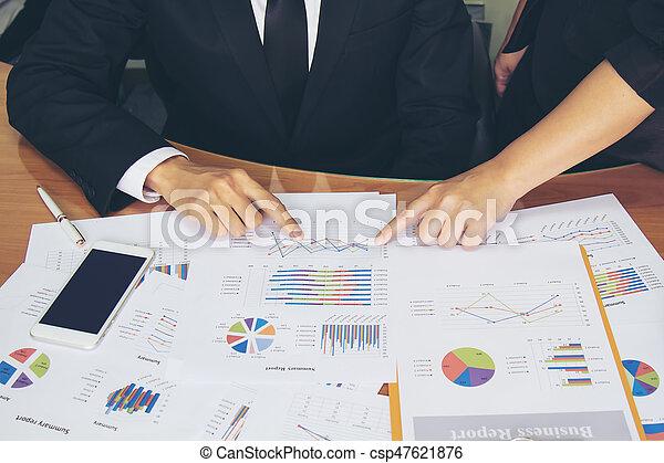 Un concepto de trabajo de negocios - csp47621876