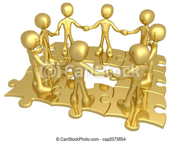 Trabajo en equipo - csp2073854
