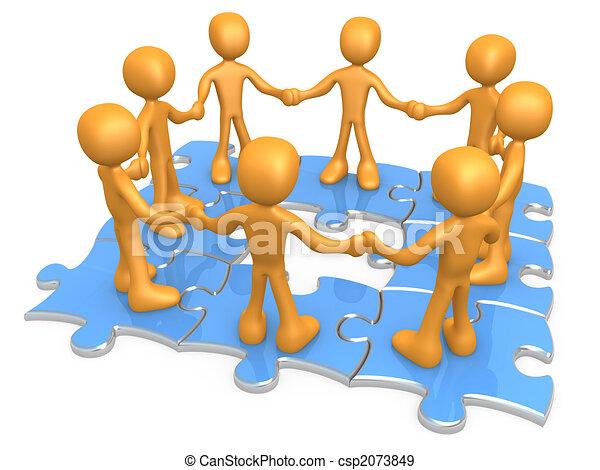 Trabajo en equipo - csp2073849