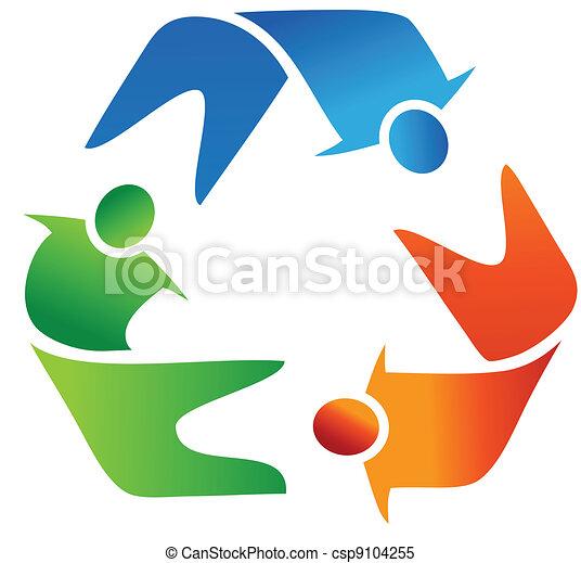 Reciclaje logotipo Imagenes Stock Photo. 9.477 Reciclaje logotipo ...