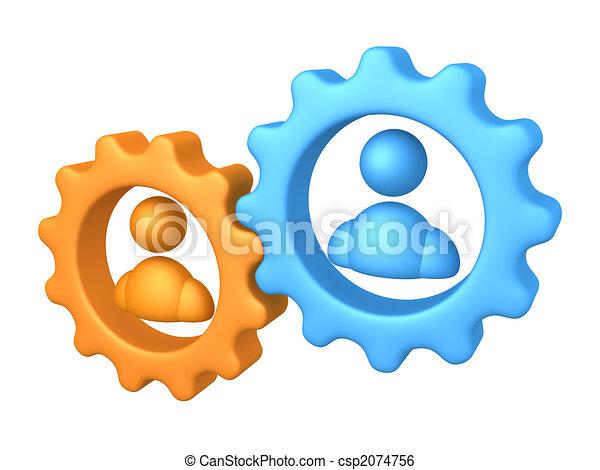 Trabajo en equipo - csp2074756