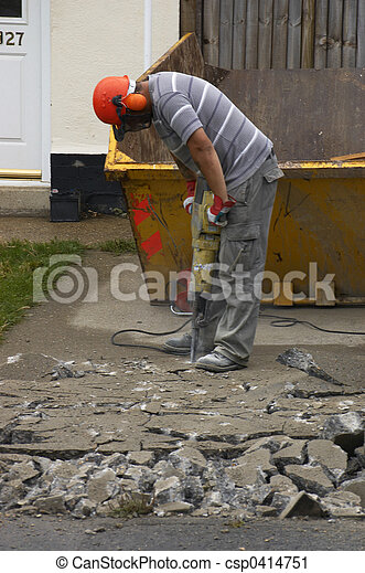 trabajo, hombres - csp0414751