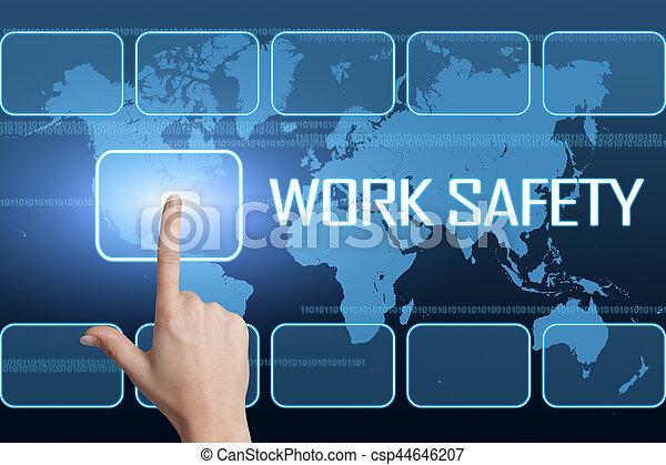 Trabajo seguro - csp44646207