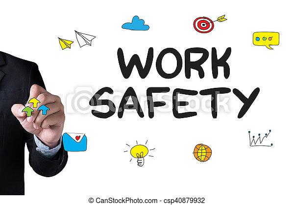 Trabajo seguro - csp40879932